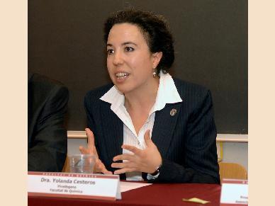 Yolanda Cesteros, nova degana de la Facultat de Química