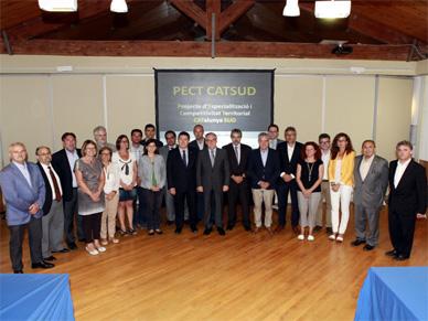 La Diputació de Tarragona, la URV i les administracions locals impulsaran un Projecte d'Especialització i Competitivitat Territorial