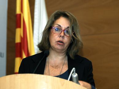 La Síndica de Greuges, Montserrat Boronat, presenta l'Informe 2013-14 al Claustre