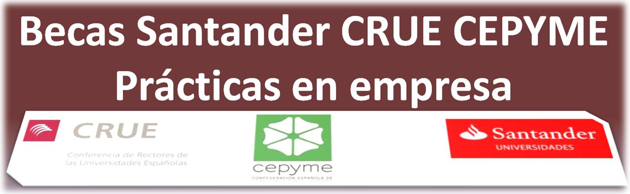 Becas Santander Prácticas pyme