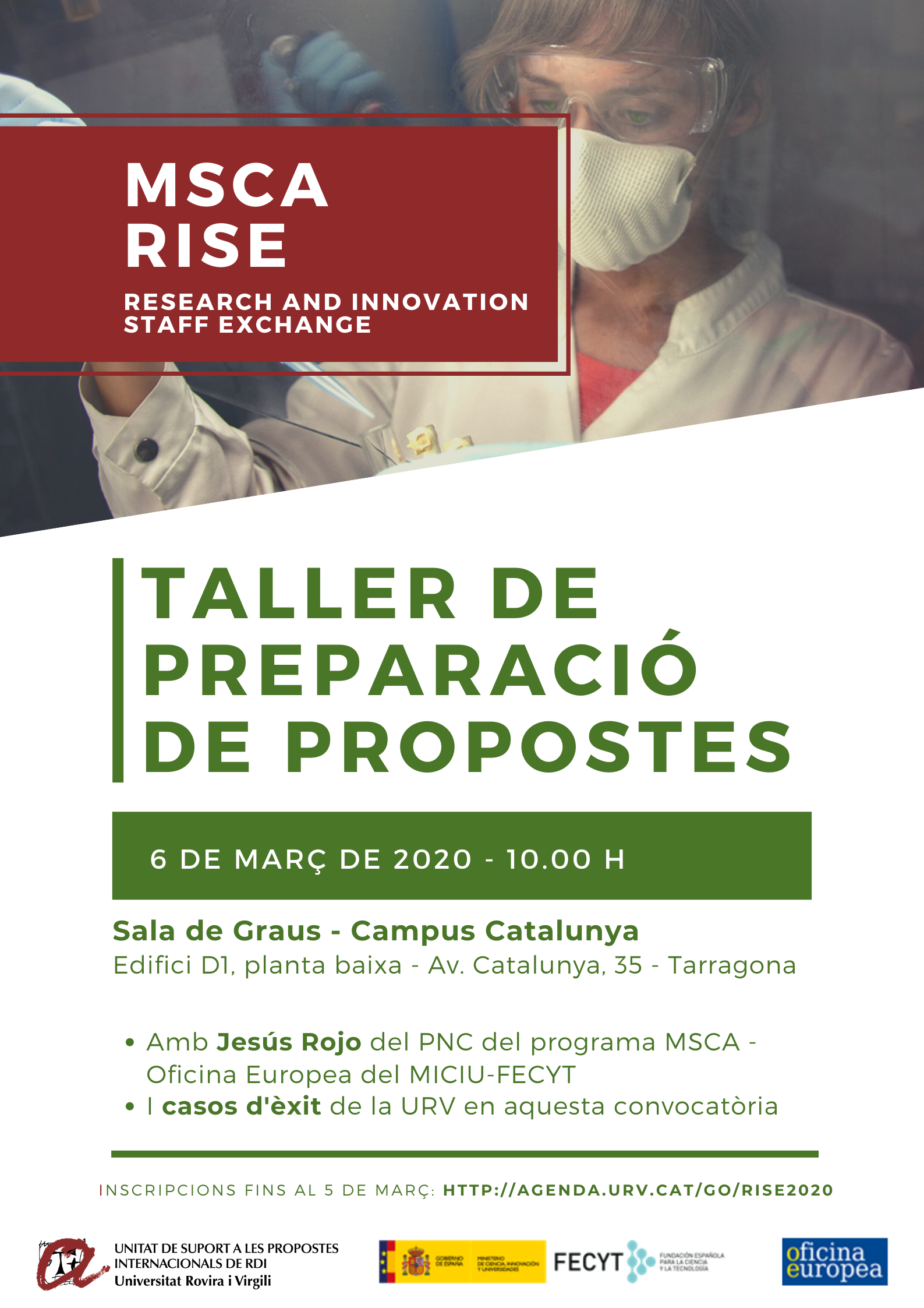 Cartell MSCA RISE Workshop